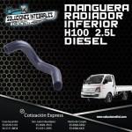MANGUERA RADIADOR INFERIOR H100 DIESEL 2.5L