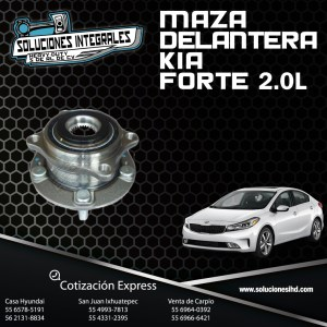 MAZA DELANTERA KIA FORTE 2.0L