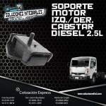 SOPORTE MOTOR IZQ/DER CABSTAR 2.5L DIESEL