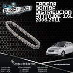 CADENA DISTR. BOMBA ATTITUDE 1.4L-1.6L 06/11