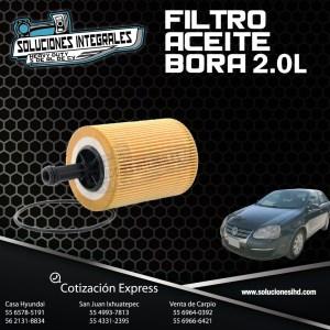 FILTRO ACEITE BORA 2.0L