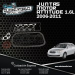 JUNTAS MOTOR ATTITUDE 1.6L 06/11