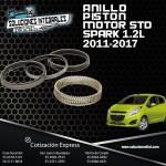 ANILLO PISTON MOTOR STD SPARK 1.2L 11-17