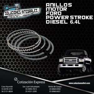 ANILLOS MOTOR FORD POWERSTROKE 6.4L (PZ)