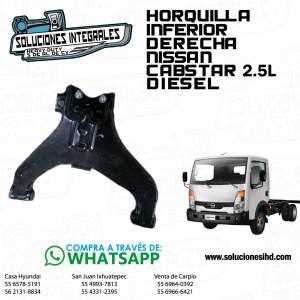 HORQUILLA INFERIOR DER. NISSAN CABSTAR 2.5L DIESEL