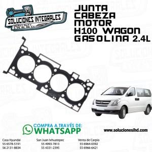 JUNTA CABEZA MOTOR H100 WAGON GASOLINA 2.4L