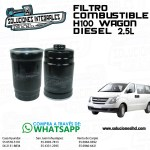 FILTRO COMBUSTIBLE H100 WAGON DIESEL 2.5L