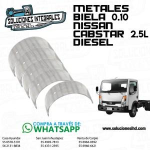 METALES BIELA 0.10 NISSAN CABSTAR 2.5L DIESEL
