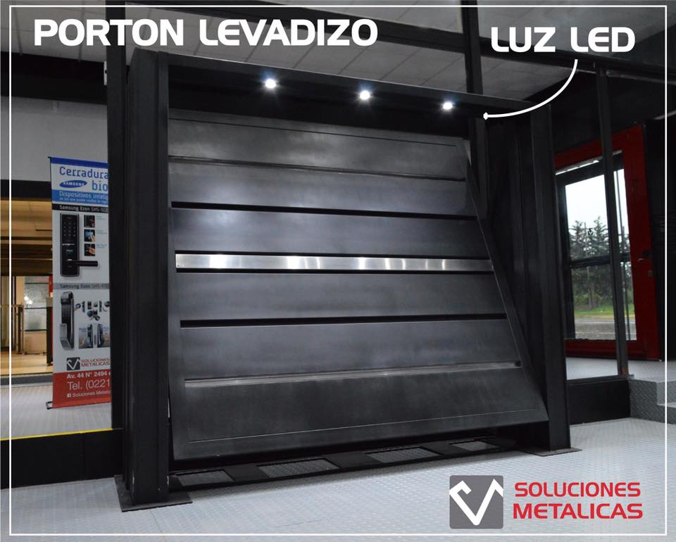 Levadizo con luces led 1