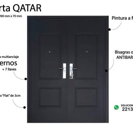 Puerta Qatar