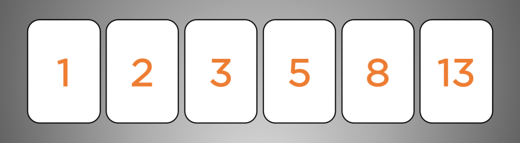 planning poker cards fibonacci