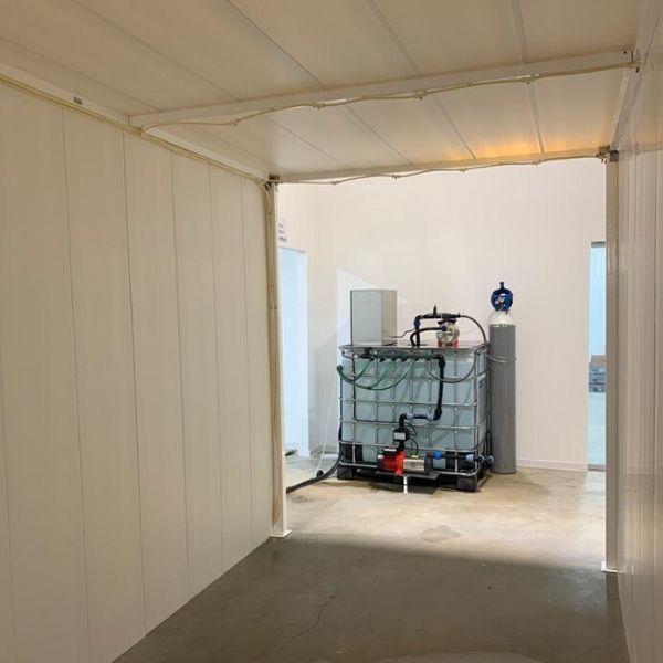 disinfection tunnel ozone ozono túnel desinfeção natural