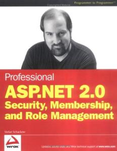 Pro ASP.NET 2.0 Security