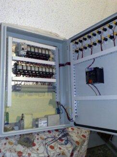 Κατασκευή πίνακας αυτοματισμού με αντιστάθμιση Siemens RVA46.531/101
