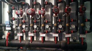 Κατασκευή διανομέας κεντρικής θέρμανσης