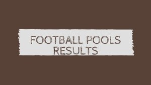 football pools betting results