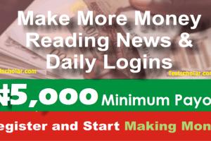 Make Money Online in Nigeria Legitimately