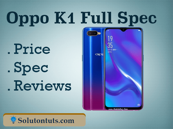 Oppo K1 Price in Bangladesh (takka) Price & Reviews 2018