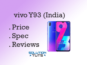 VIVO Y93 (India) Price In India Hindustan | Specification