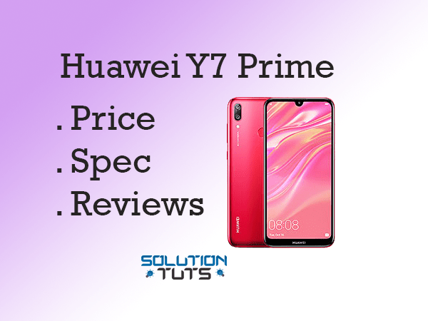 Huawei Y7 Prime (2019) In USA & UAE | Specification
