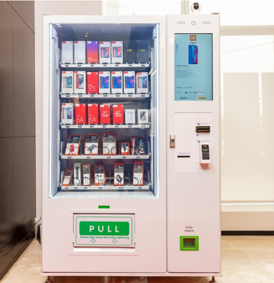 Xiaomi sell its products by vending machines in India