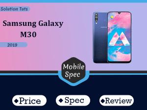 Samsung Galaxy M30 In USA & UAE | Specification