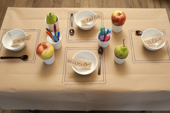 Una tavola divertente