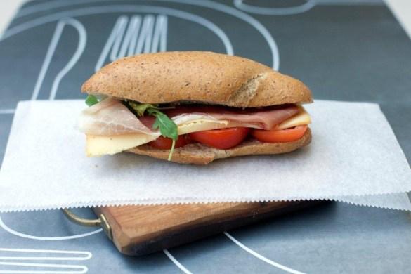 Un panino gustoso e leggero