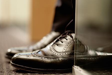 macchia lucido da scarpe