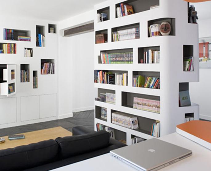 Come creare libreria sfruttando le nicchie di casa for Creare piani di casa gratuiti