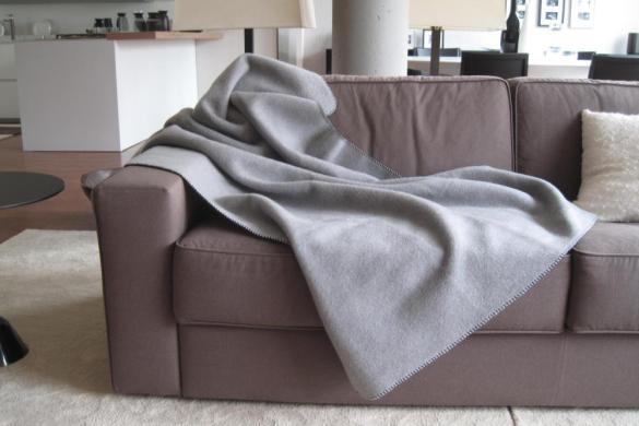 Cinque modi per usare un plaid di lana