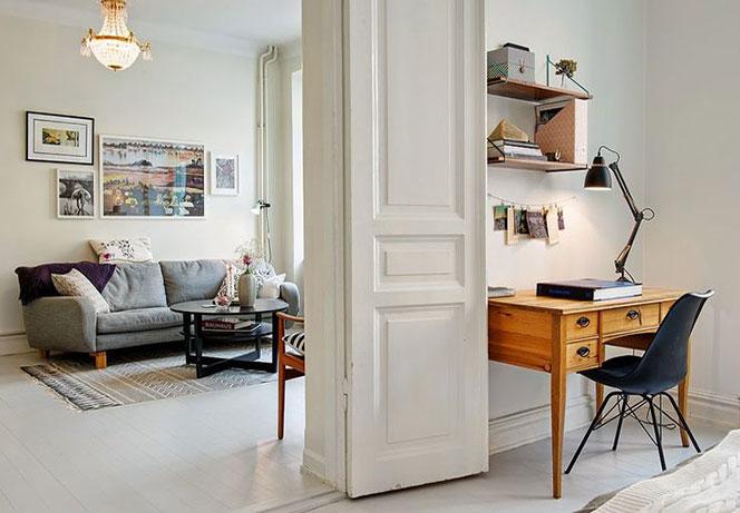 Trucchi per aumentare lo spazio in una stanza