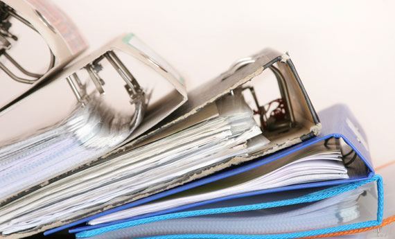 come organizzare i documenti