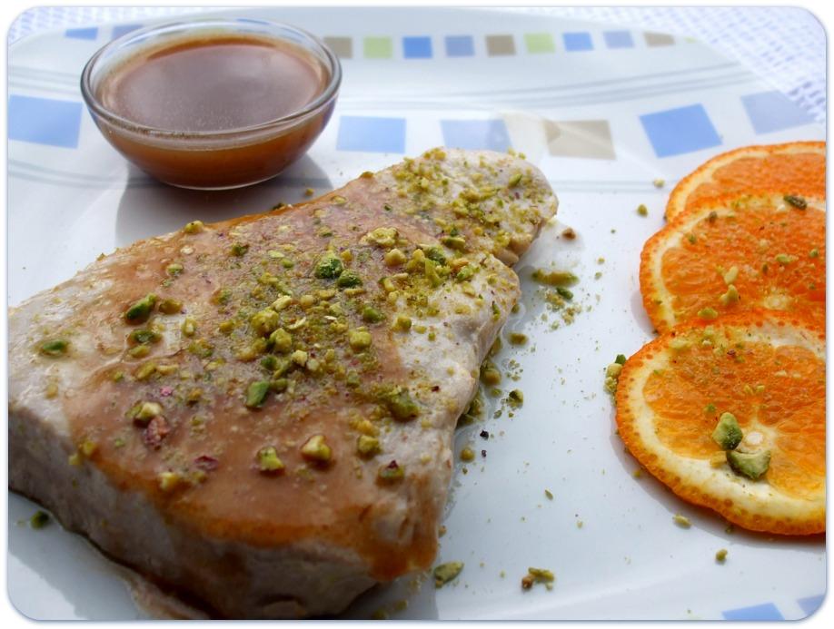 tonno con arance e cipolle rosse