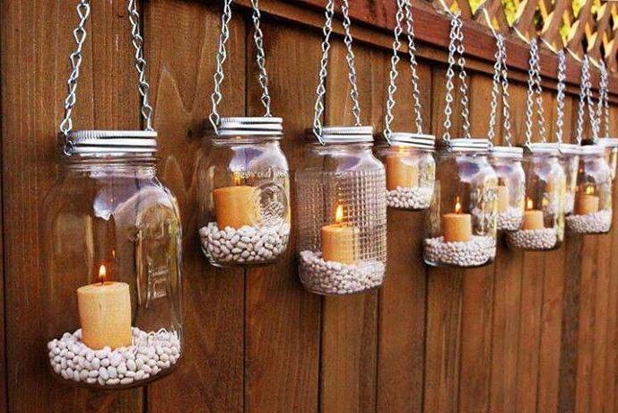come decorare con le candele