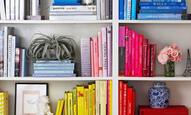 Come organizzare e ordinare i libri soluzioni di casa for Sistemare casa