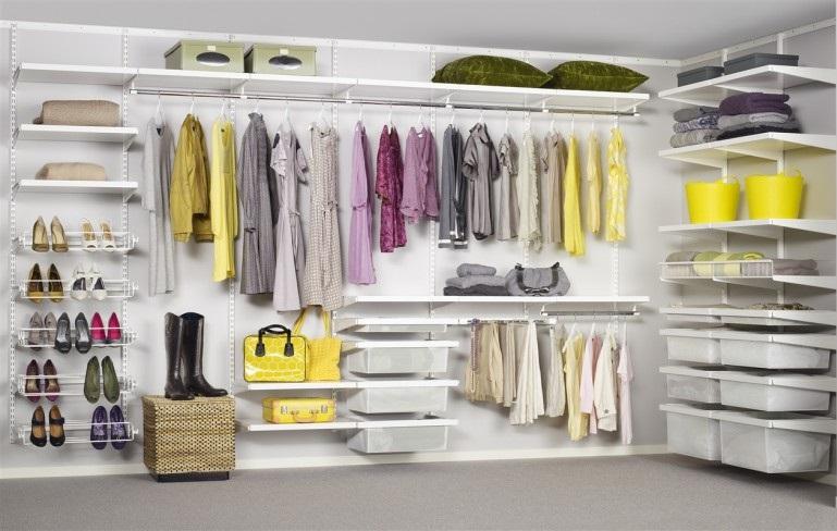 Come organizzare la cabina armadio soluzioni di casa - Moduli per cabina armadio ...