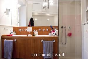 Un bagno pulito ed in ordine