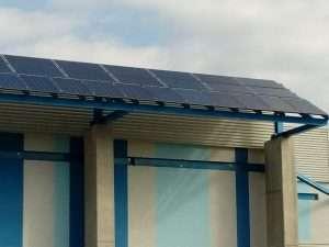 Isolamento termico di pannelli solari
