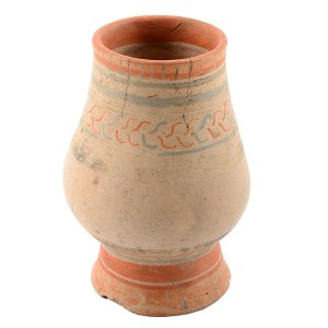 Costa Rican Ancient Baluster Shaped Urn