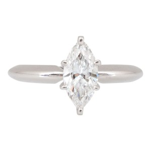 Internally Flawless 1 Carat Marquise Diamond Ring