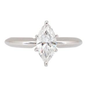 Internally Flawless 1 Carat Marquise Diamond Ring