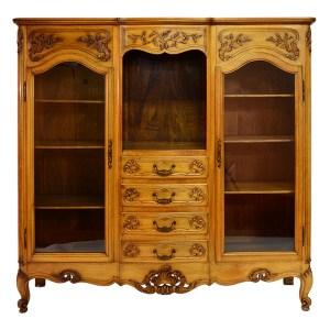 American Mahogany Library Bookcase