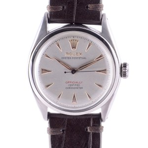 Rolex Oyster Perpetual Stainless Steel Wrist Watch