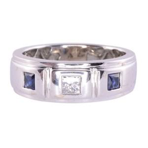 Diamond Sapphire Ring