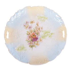 R S Prussia cake plate