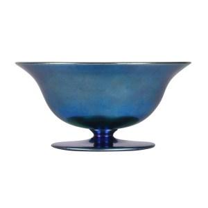 Steuben Aurene blue