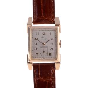 Wyler mens wrist watch