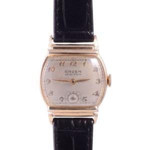 Gruen wrist watch