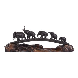Bridge of Elephants Bronze